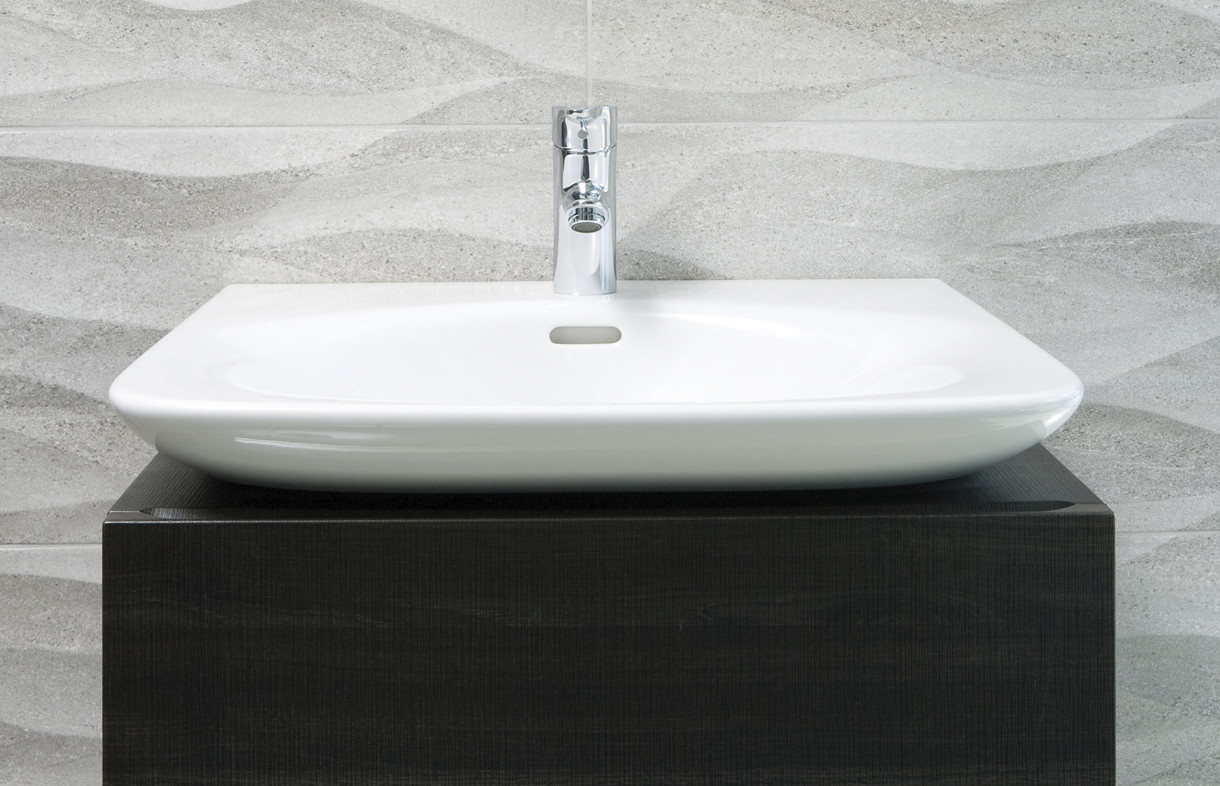 Laufen Palace anthracite vanity unit
