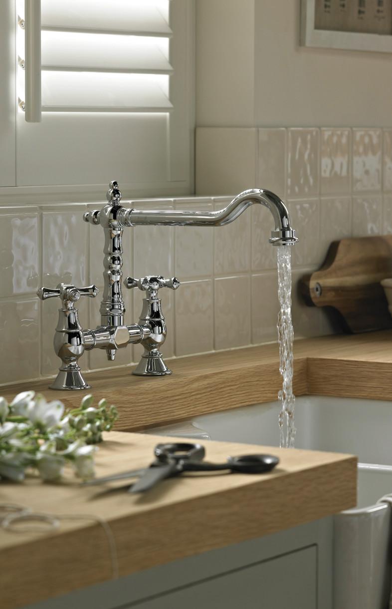 Bristan Colonial kitchen mixer tap