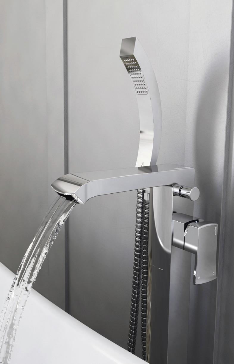Bristan Descent floor standing bath shower mixer