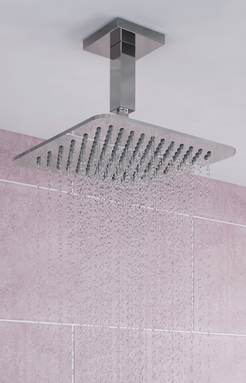 Bristan square fixed head shower rose