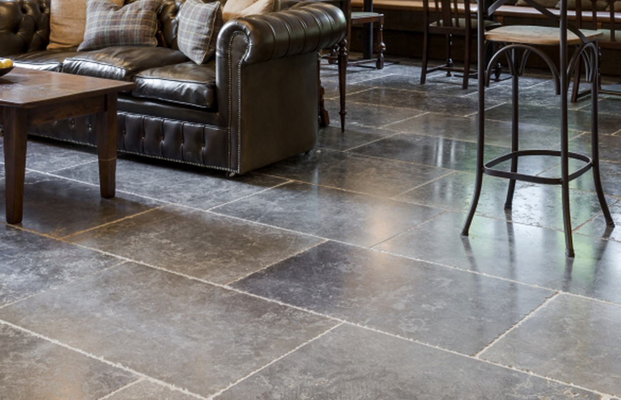 Ca Pietra Hazlebury tumbled natural stone tiles