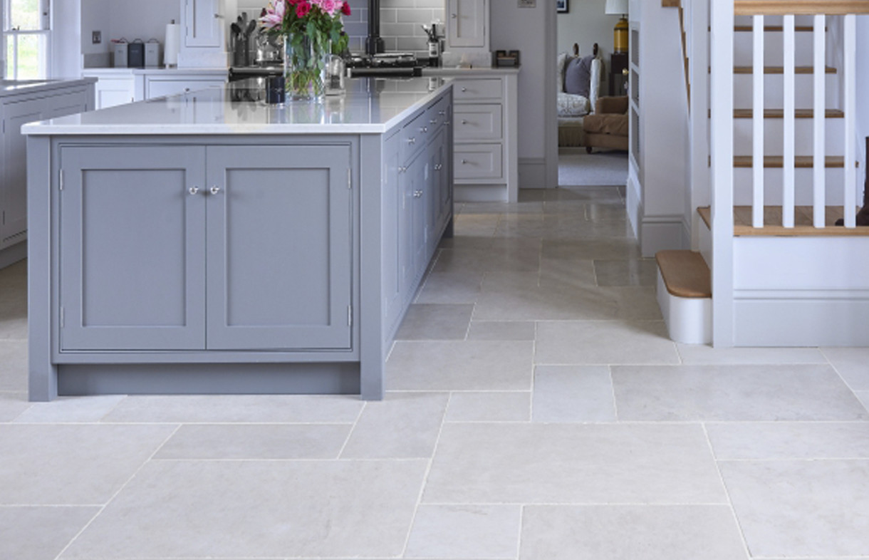 Ca Pietra Lunar tumbled natural stone tiles