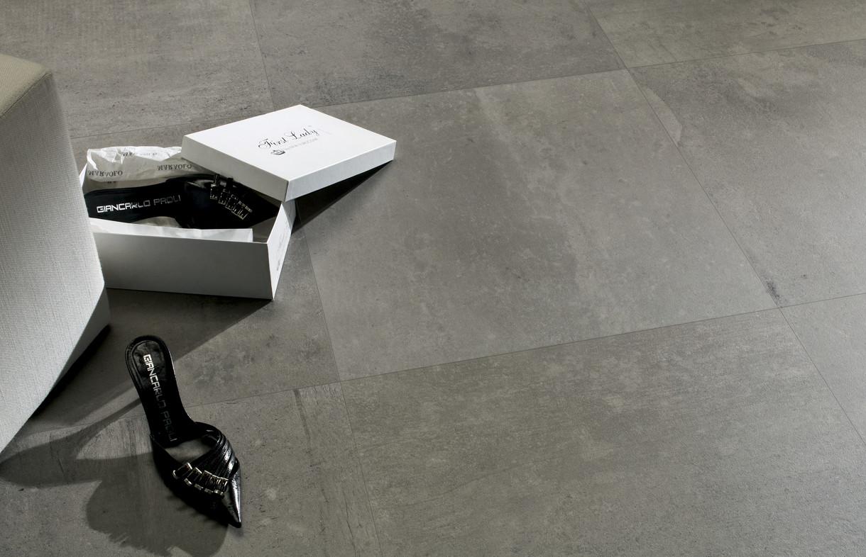 Edimax Resine grey porcelian tile