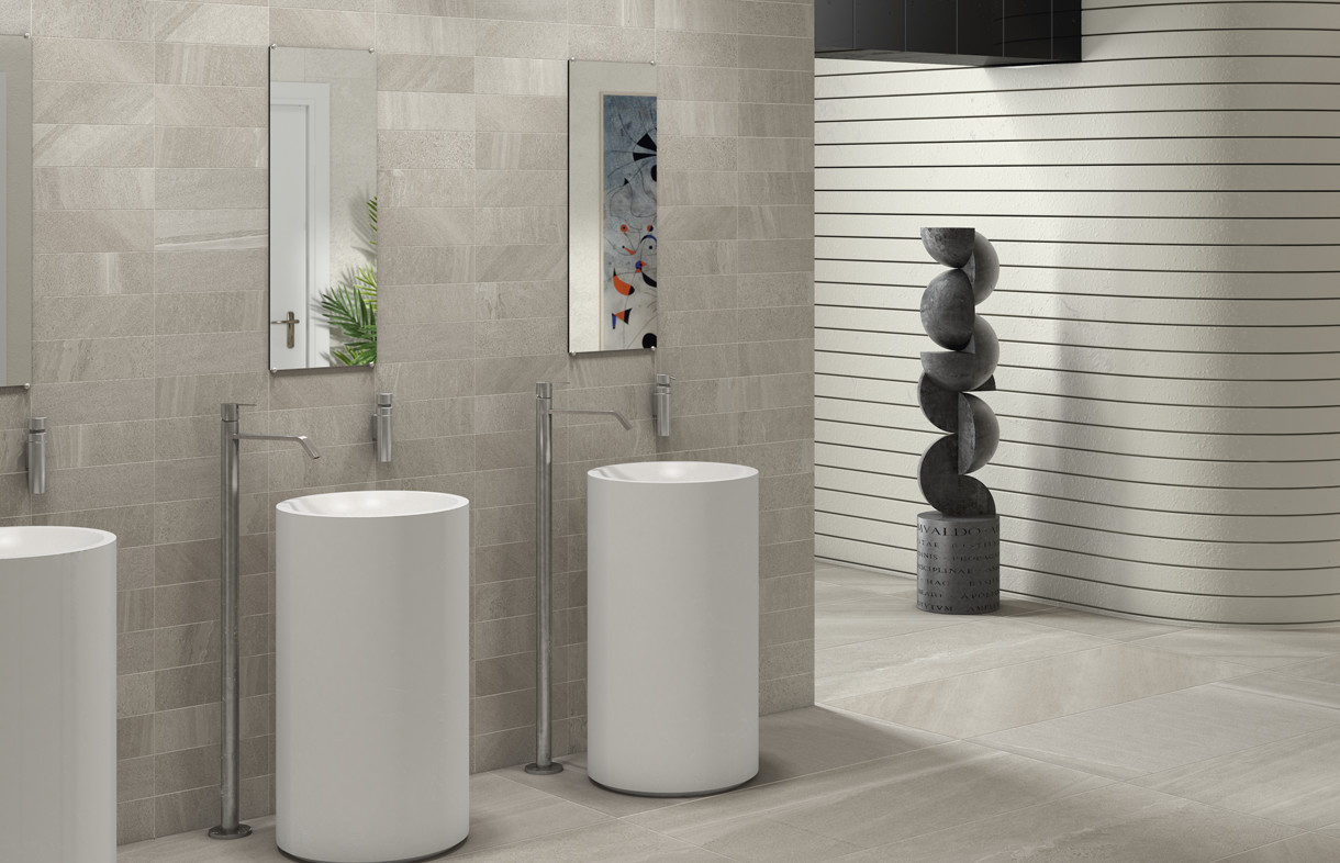 Edimax Sands grey porcelain wall and floor tilesmax-Sands-grey-porcelain-wall and floor tiles