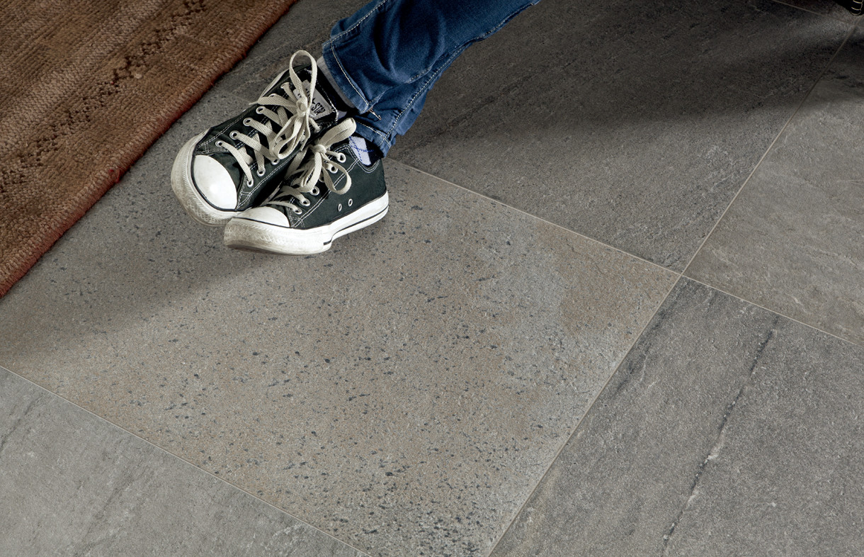 Edimax Quartz Design silver porcelain tile