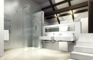 Merlyn series 8 showerwall