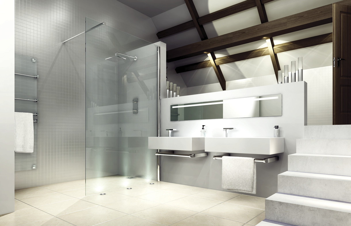 Merlyn series 8 showerwall