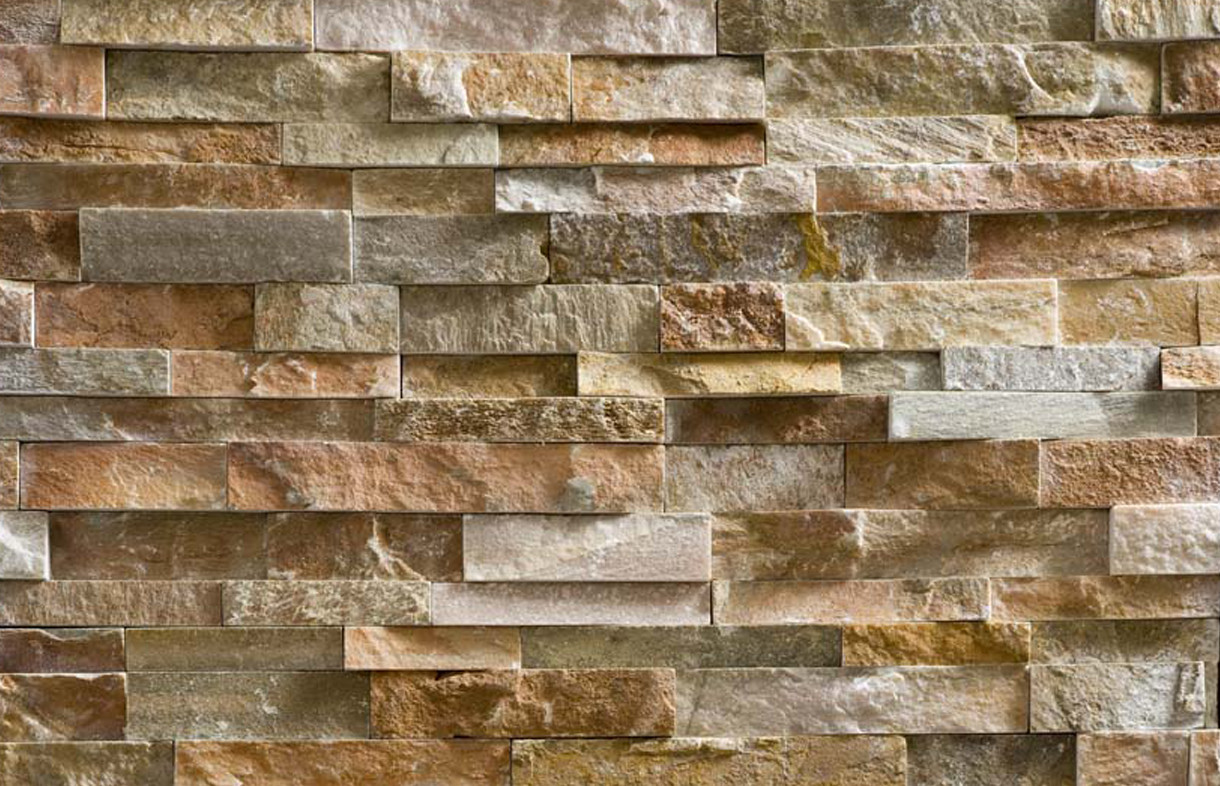 Oyster split face slate natural stone tiles