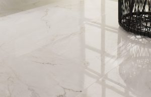 Porcelanosa Bianco Carrara porcelian floor tile