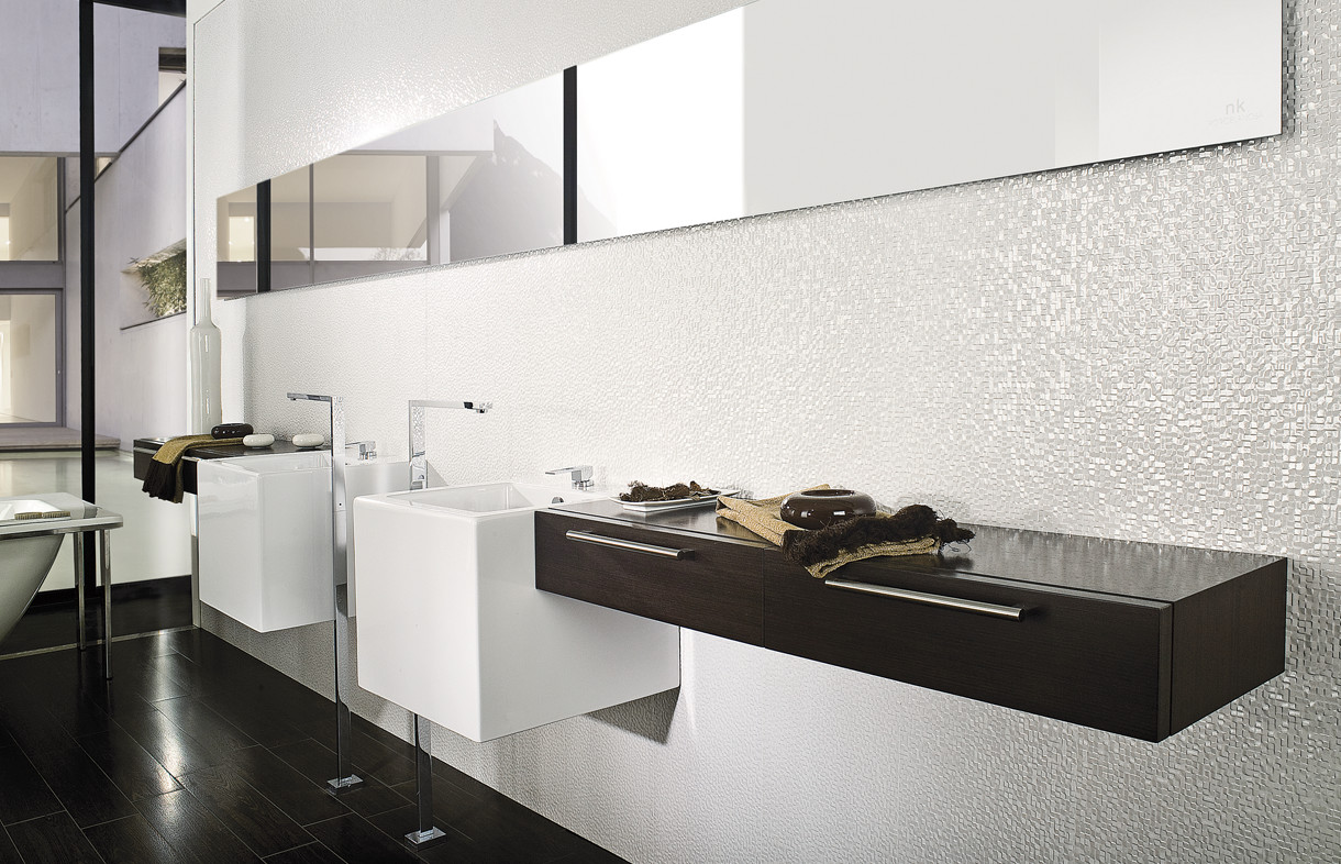 Porcelanosa Cubica blanco ceramic tiles