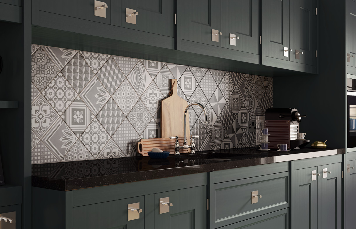 Ted Baker geotile porcelain wall and floor tiles