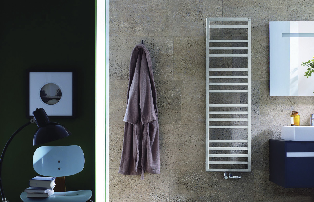 Zehnder Quaro Spa heated towel rail