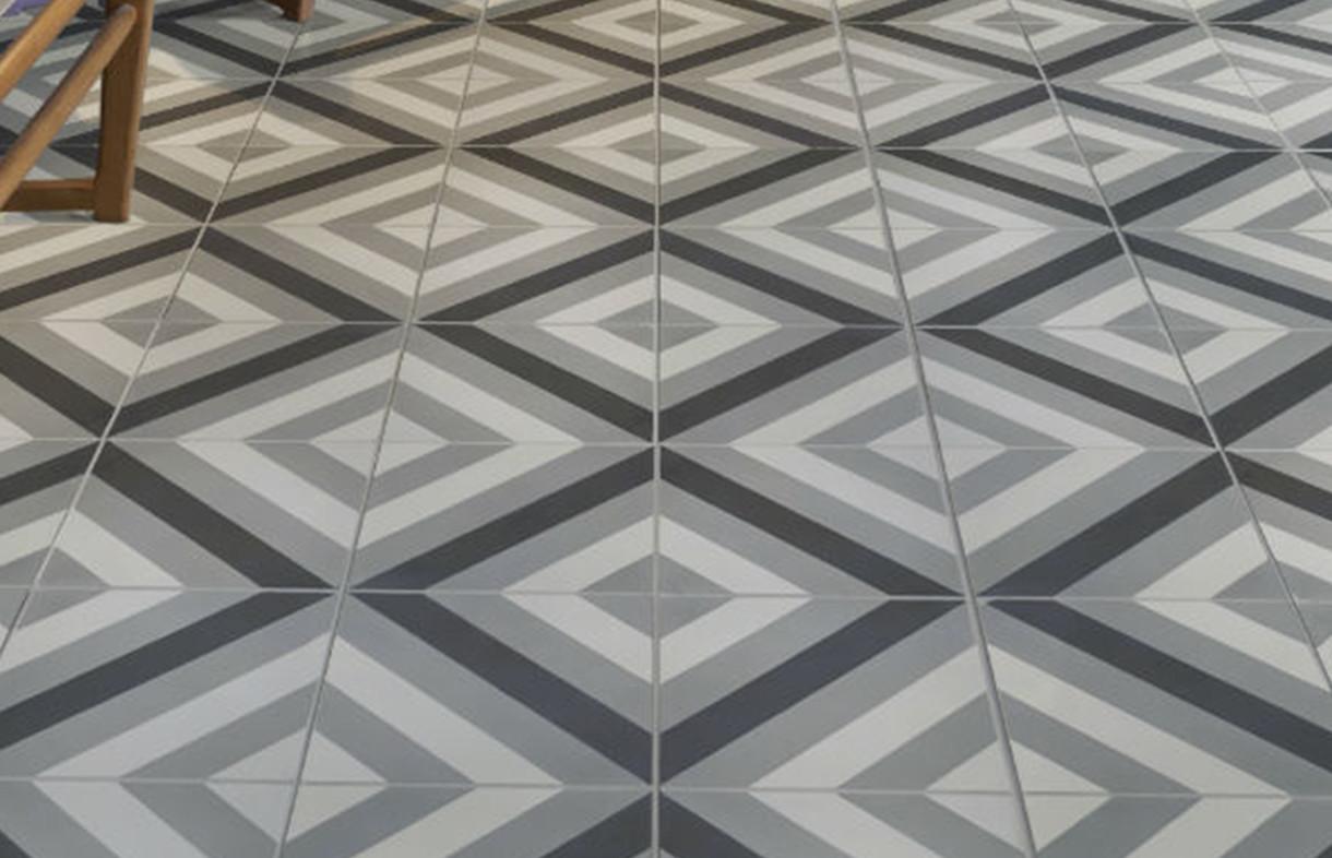 Ca Pietra - Brighton - encaustic tile