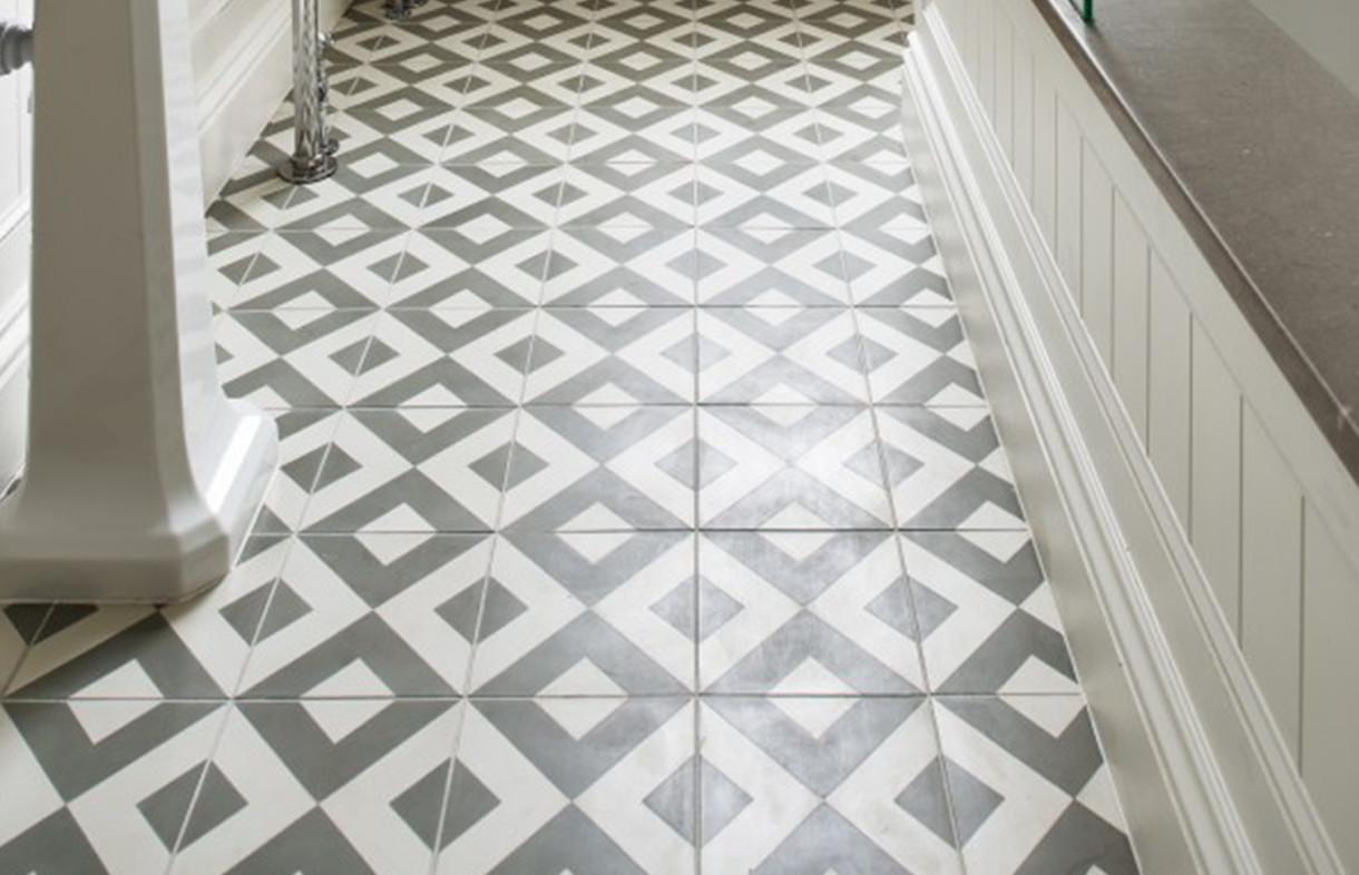 Ca Pietra - Modern Harlequin - encaustic tile