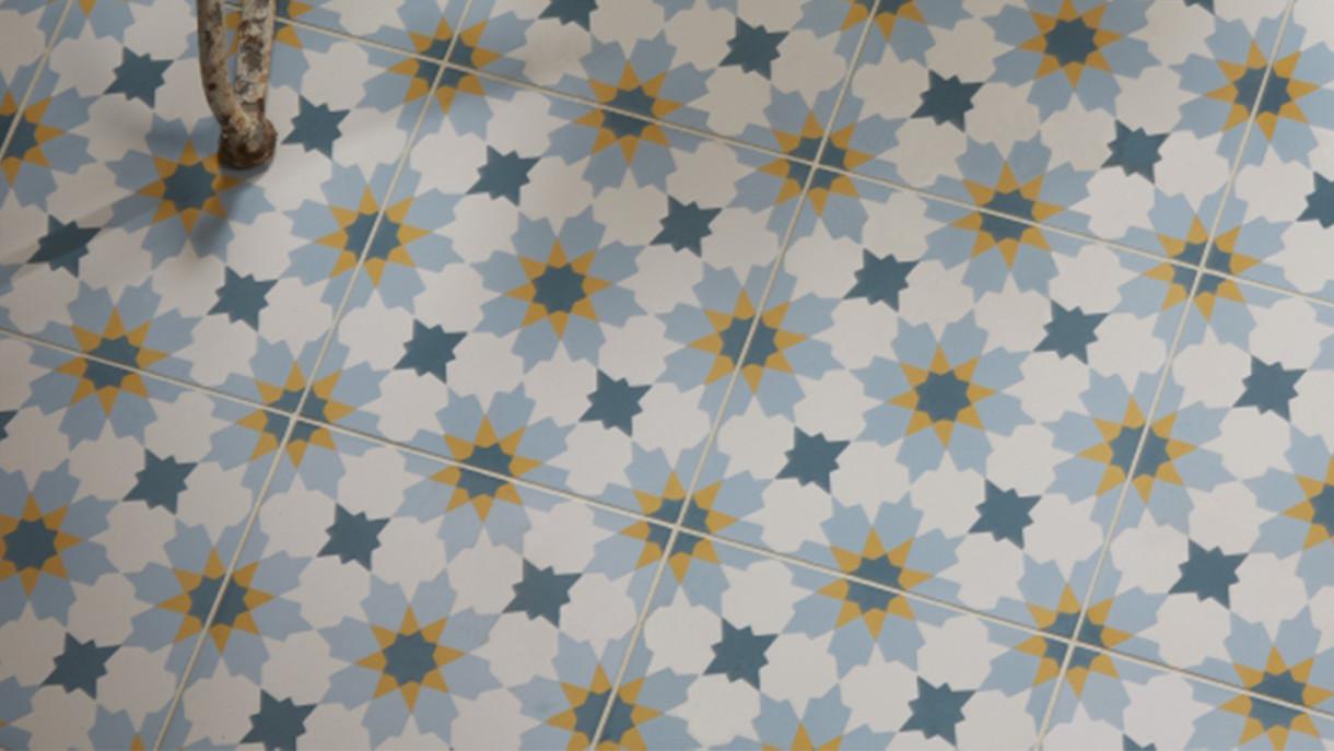 Ca Pietra - Tangier - encaustic tile