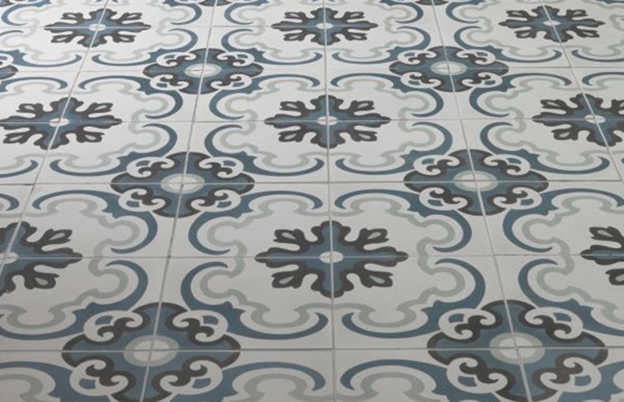 Ca Pietra - Toulon - encaustic tile