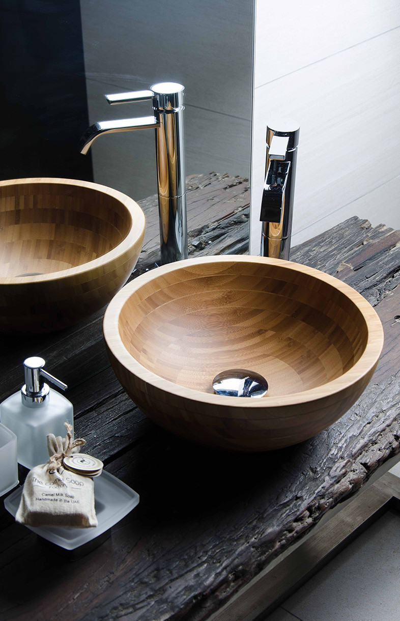 Bagno Design bambu bathrooms