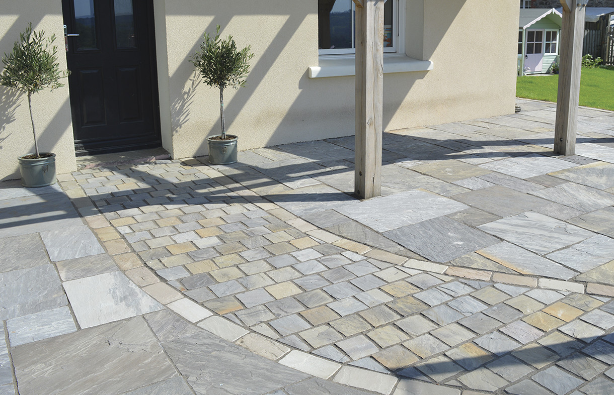 Global Stone driveway setts castle grey