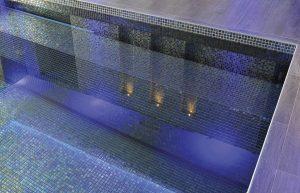 Waxman Cermaics iridis mosaic tiles