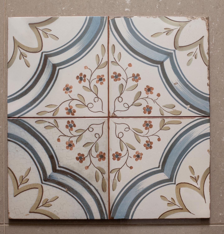 Ca'Pietra Spitafields Nijar pattern tiles