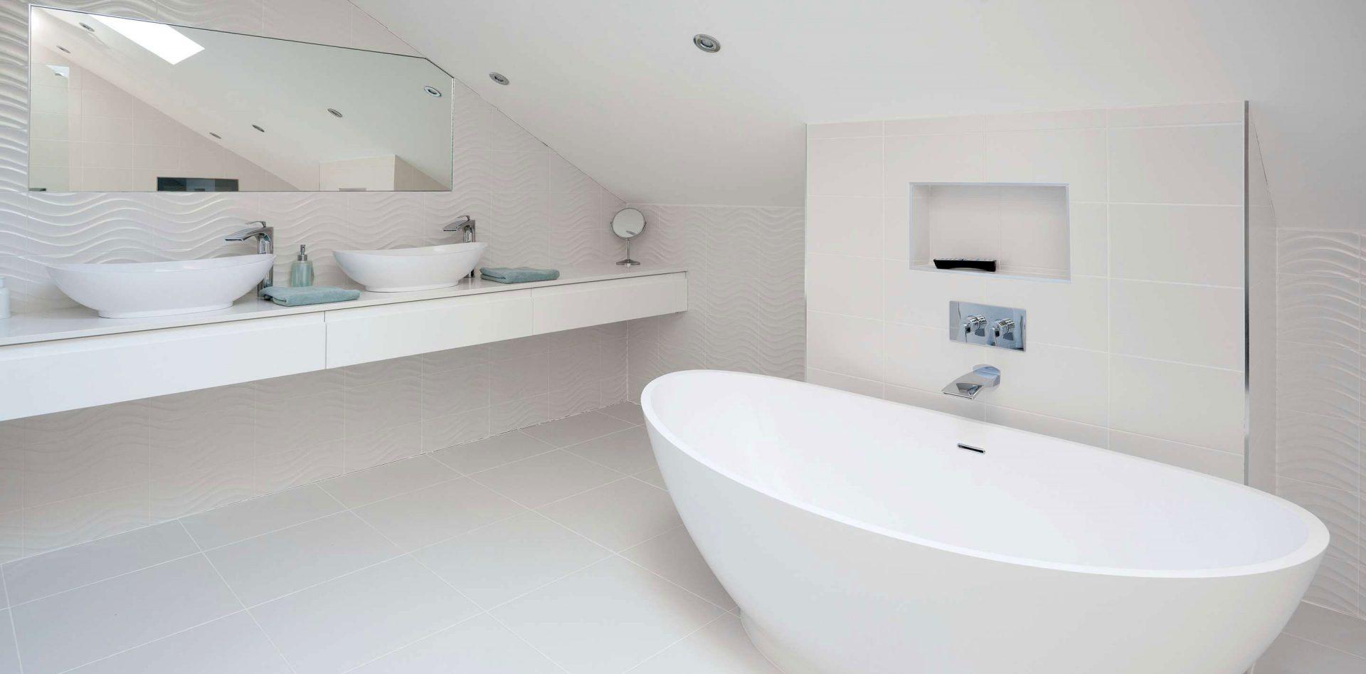 Foxwood bathroom installation