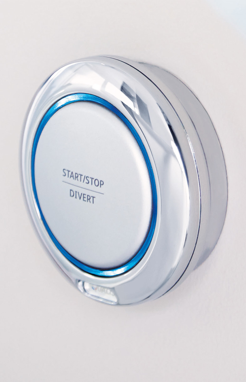 Aqualisa Quartz wireless shower remote