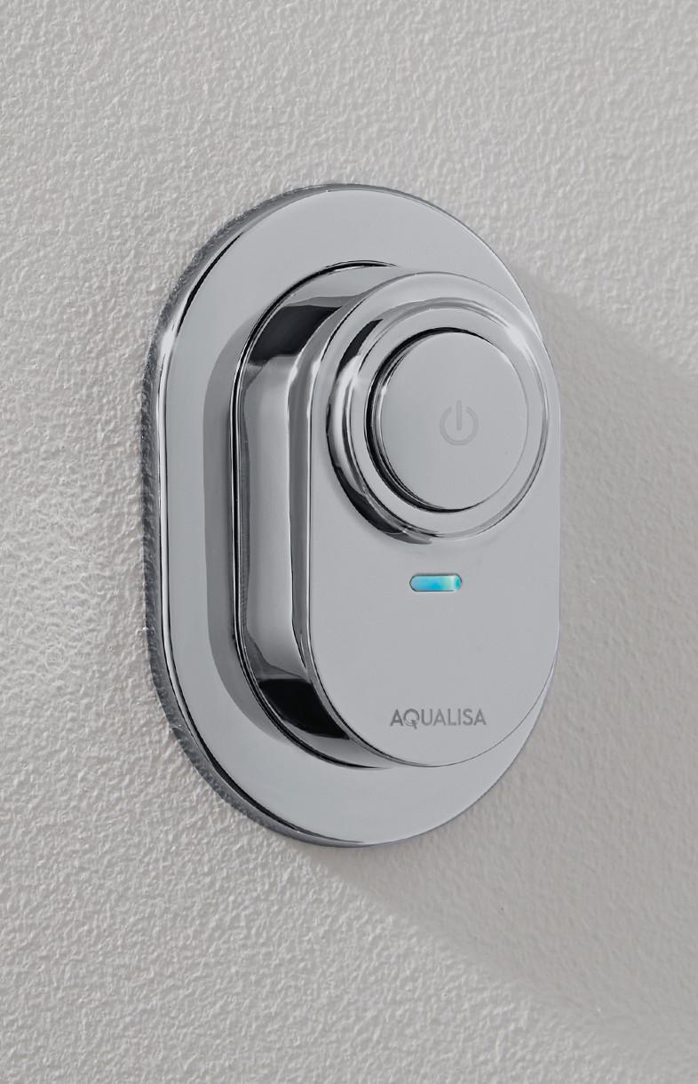 Aqualisa Visage digital shower remote
