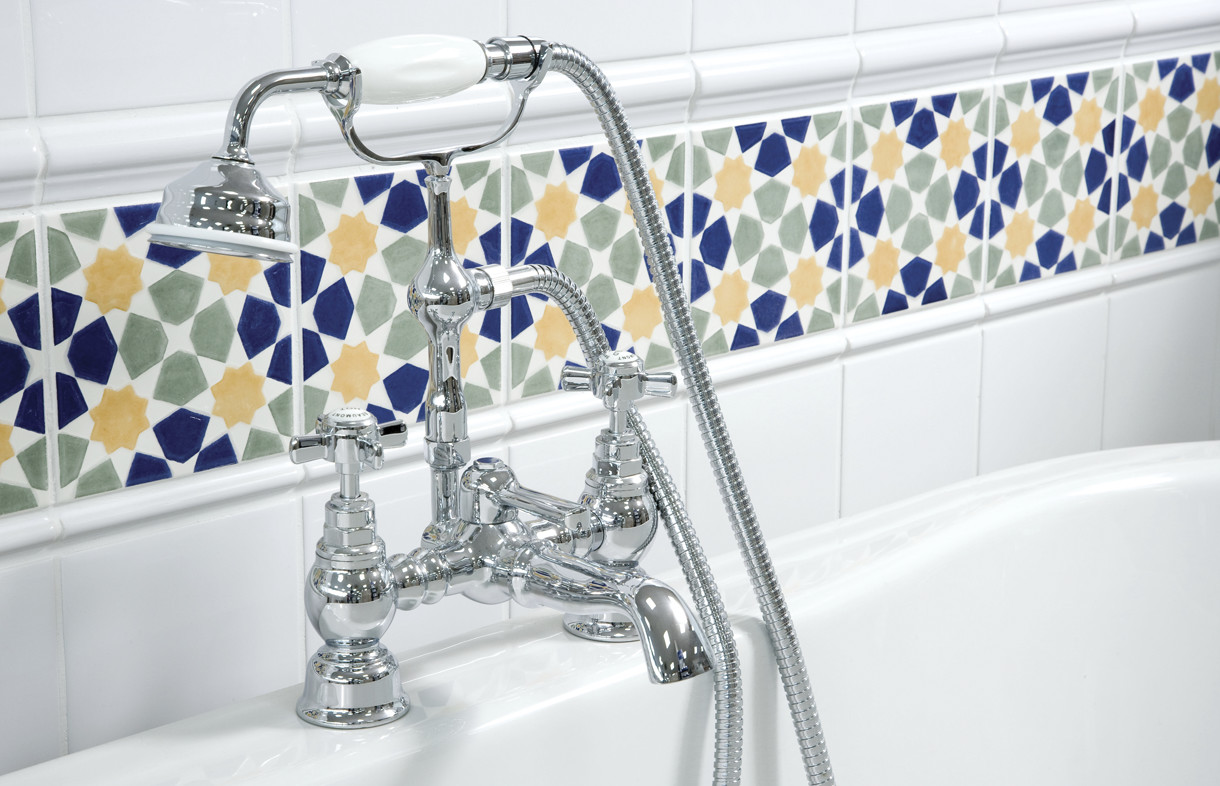 Ultra Beaumont traditional luxury bath shower mixer