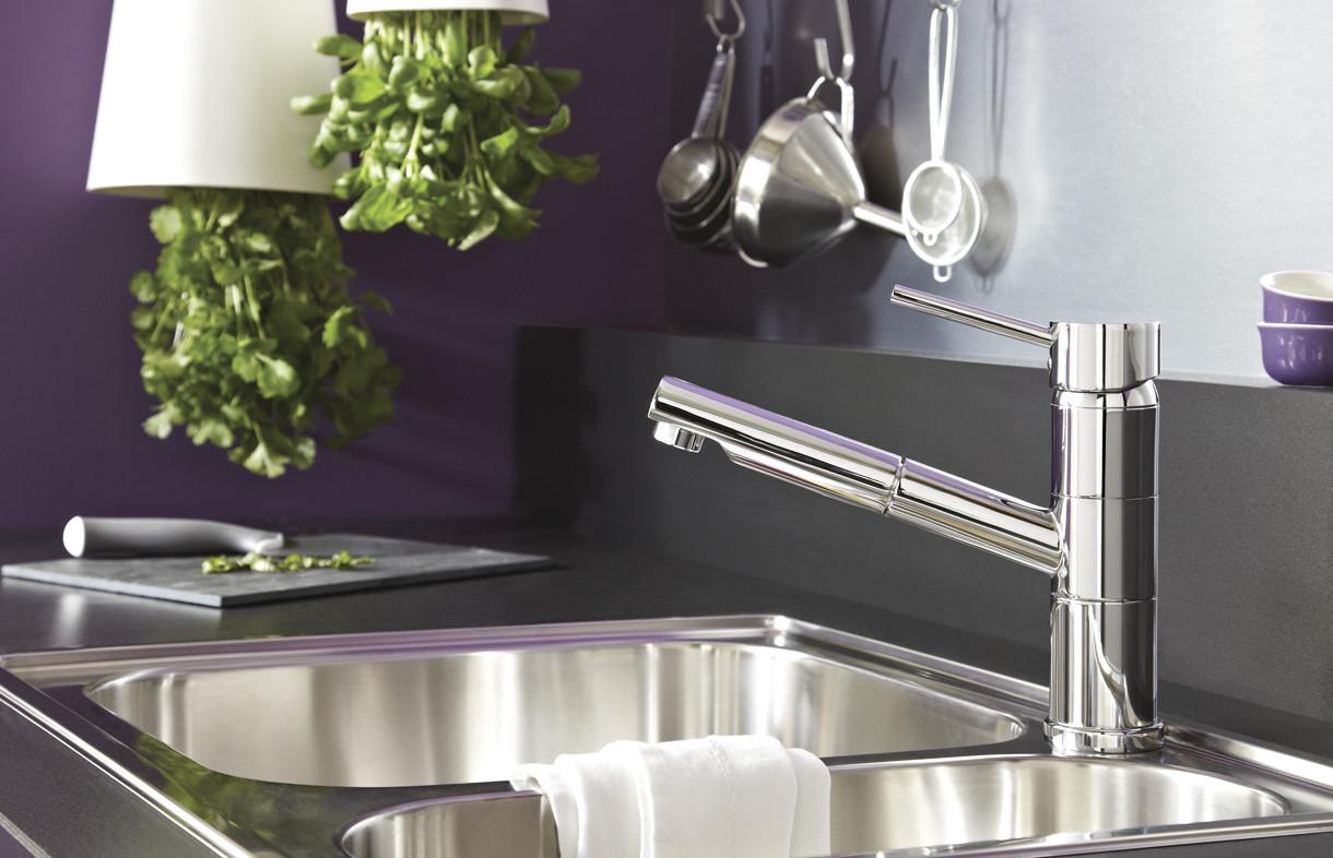 Bristan Almond kitchen tap