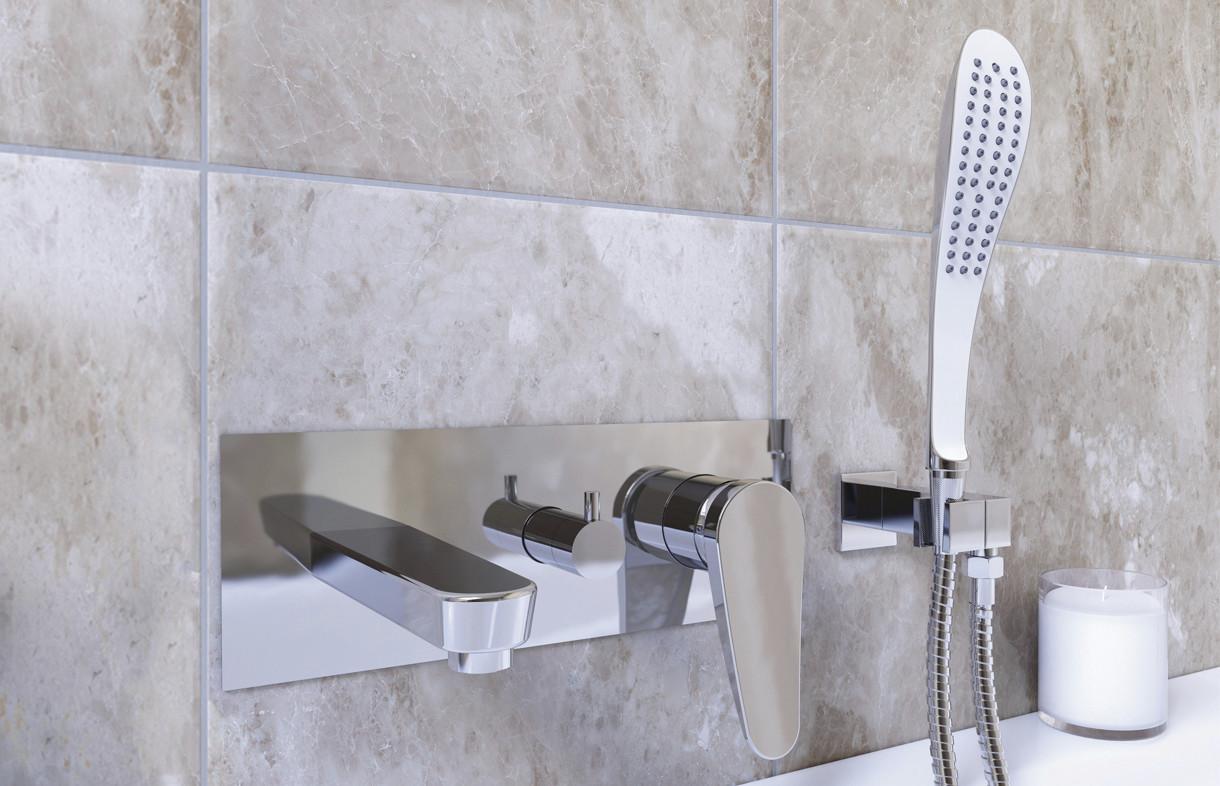 Bristan Claret wall mounted bath shower mixer