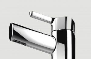 Bristan Flute basin mixer tap