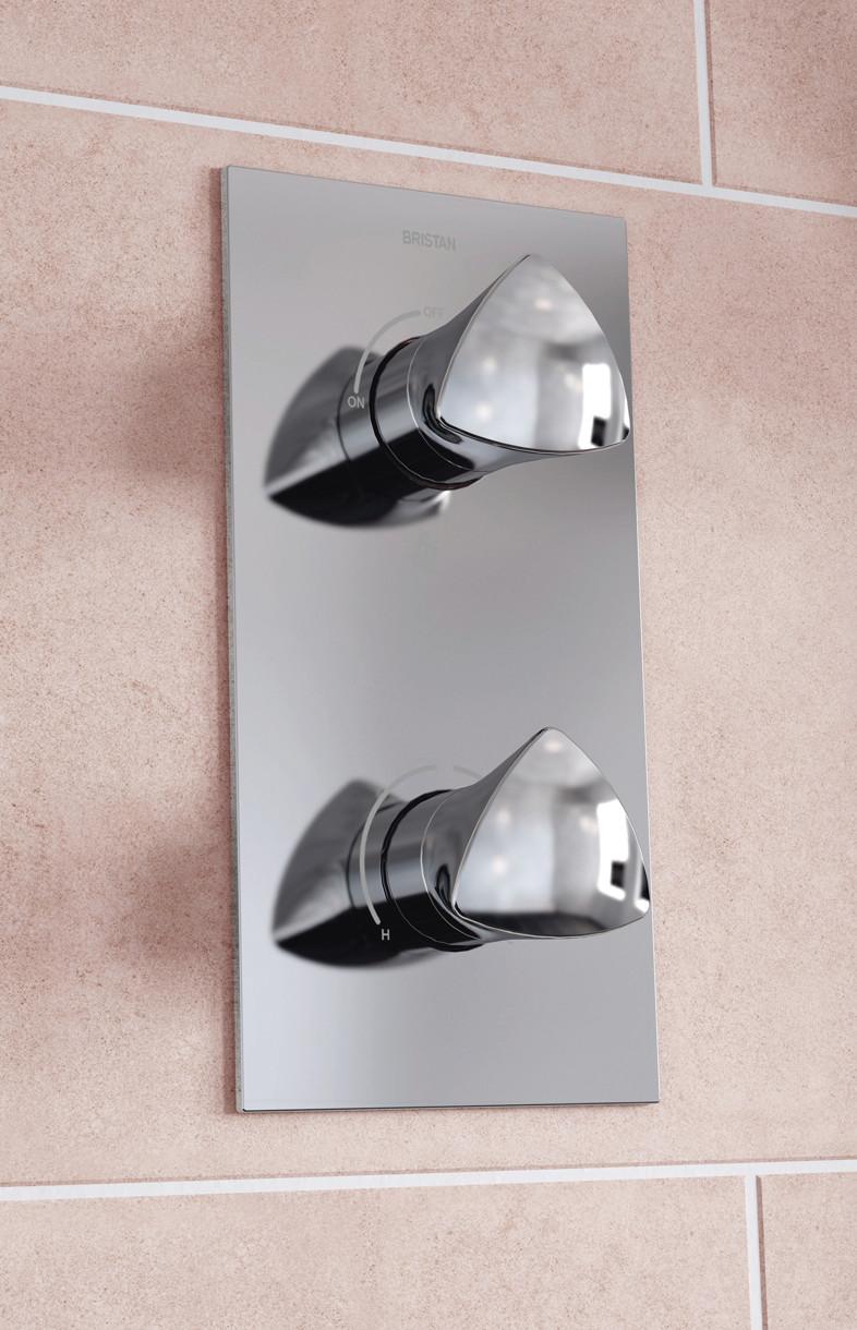 Bristan bright recessed shower valve