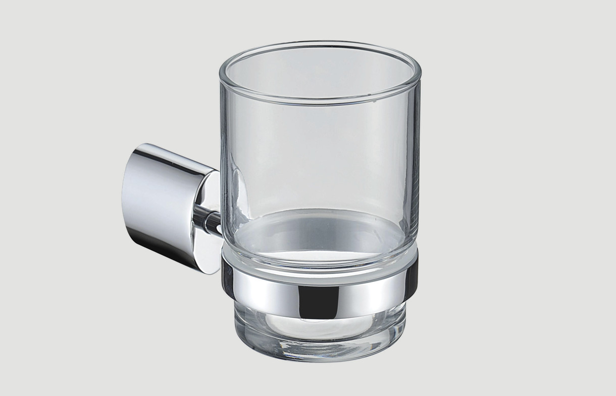 Bristan glass oval