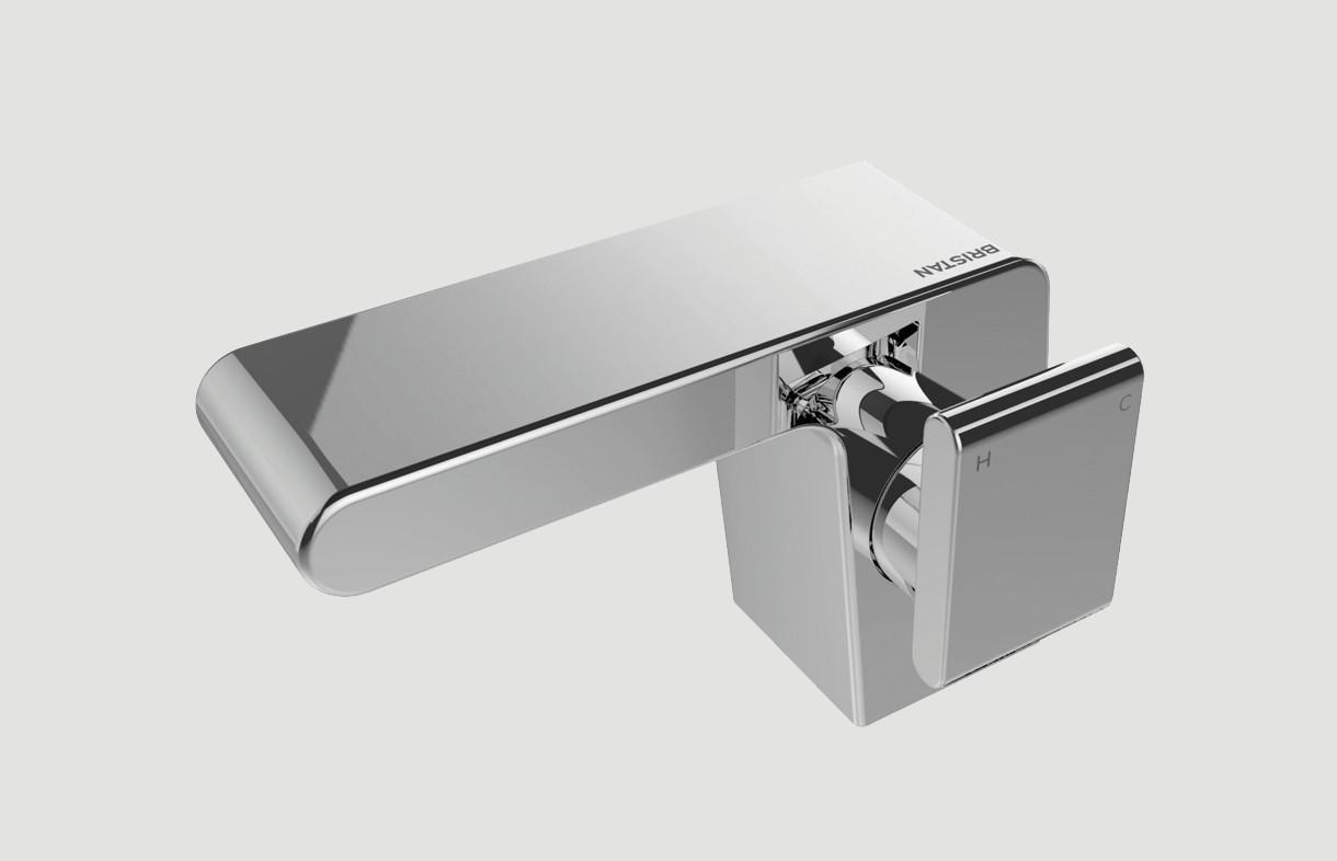Bristan pivot side lever basin mixer tap