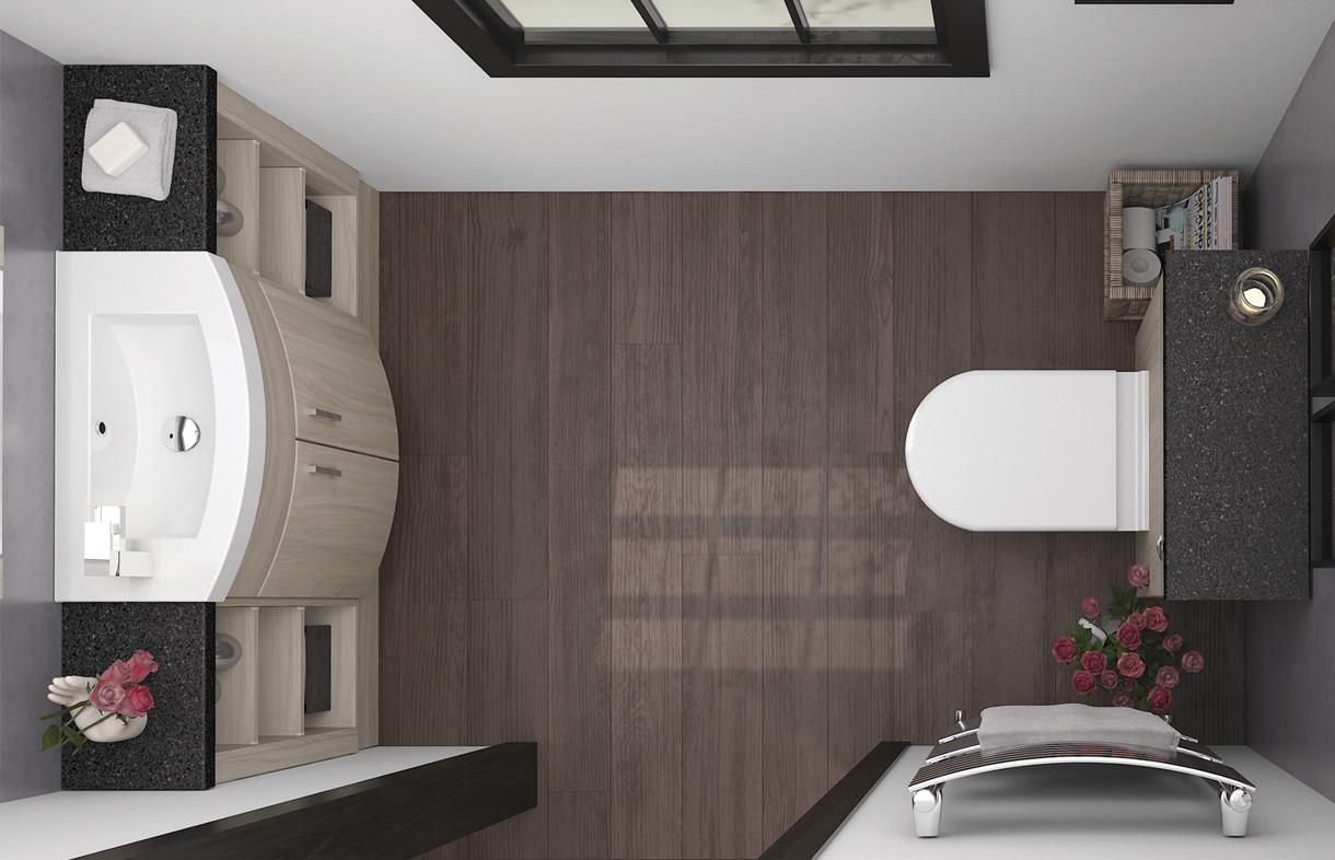 Mallard Swiss elm slimline bathroom furniture