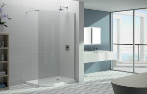 Merlyn shower enclosure 8 series curved Mstone tray
