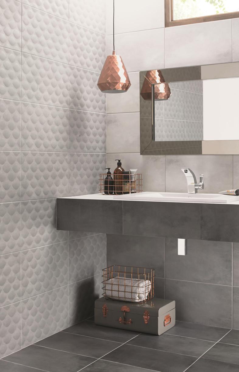 Ted Baker tactile grey ceramic tiles