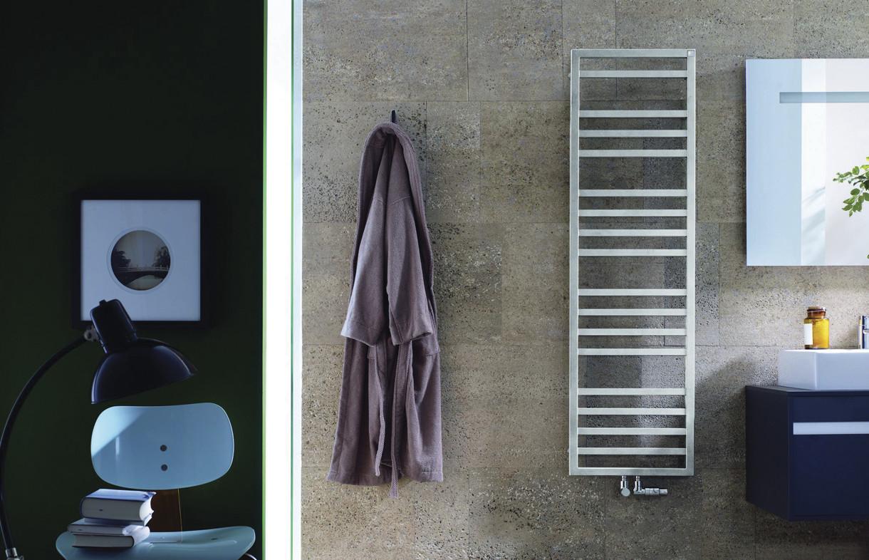 Zehnder Quaro Spa heated towel rail