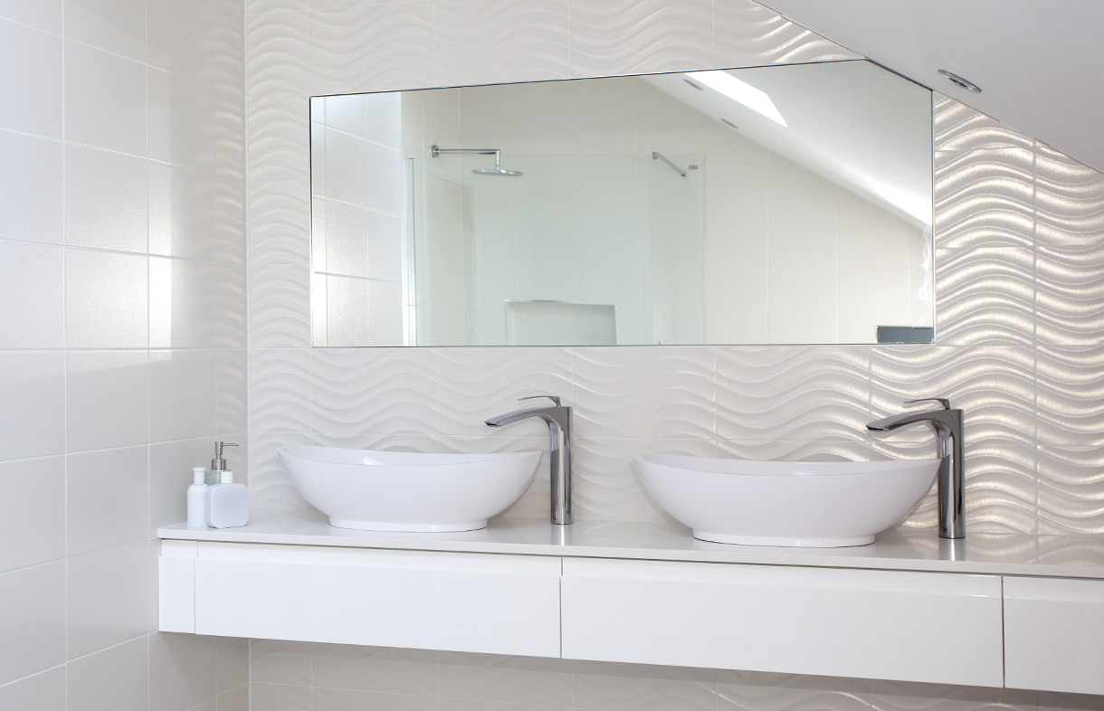 Supply and fitting of tiles and bathroom