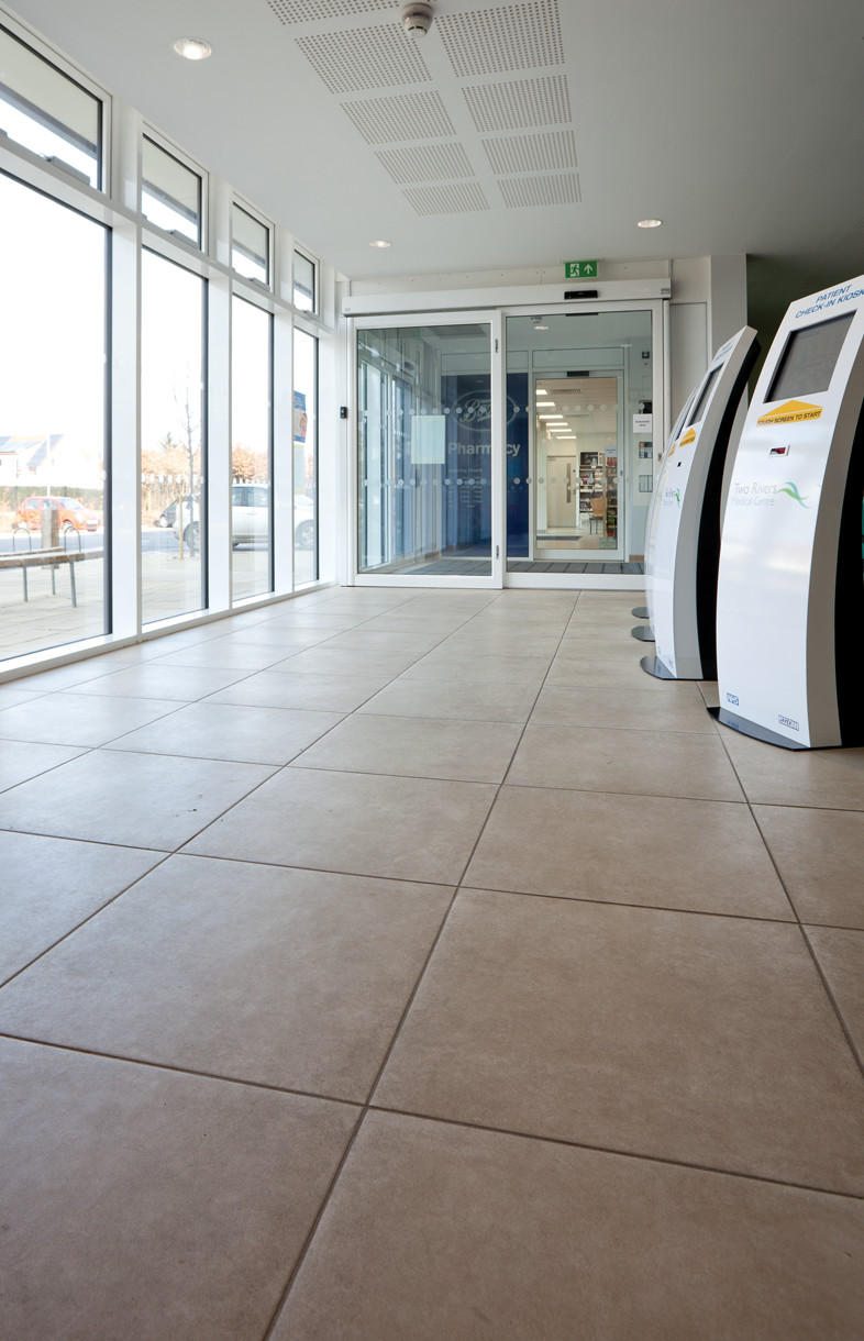 Supply and fix tiles at Two Rivers Medical Centre, Ipswich