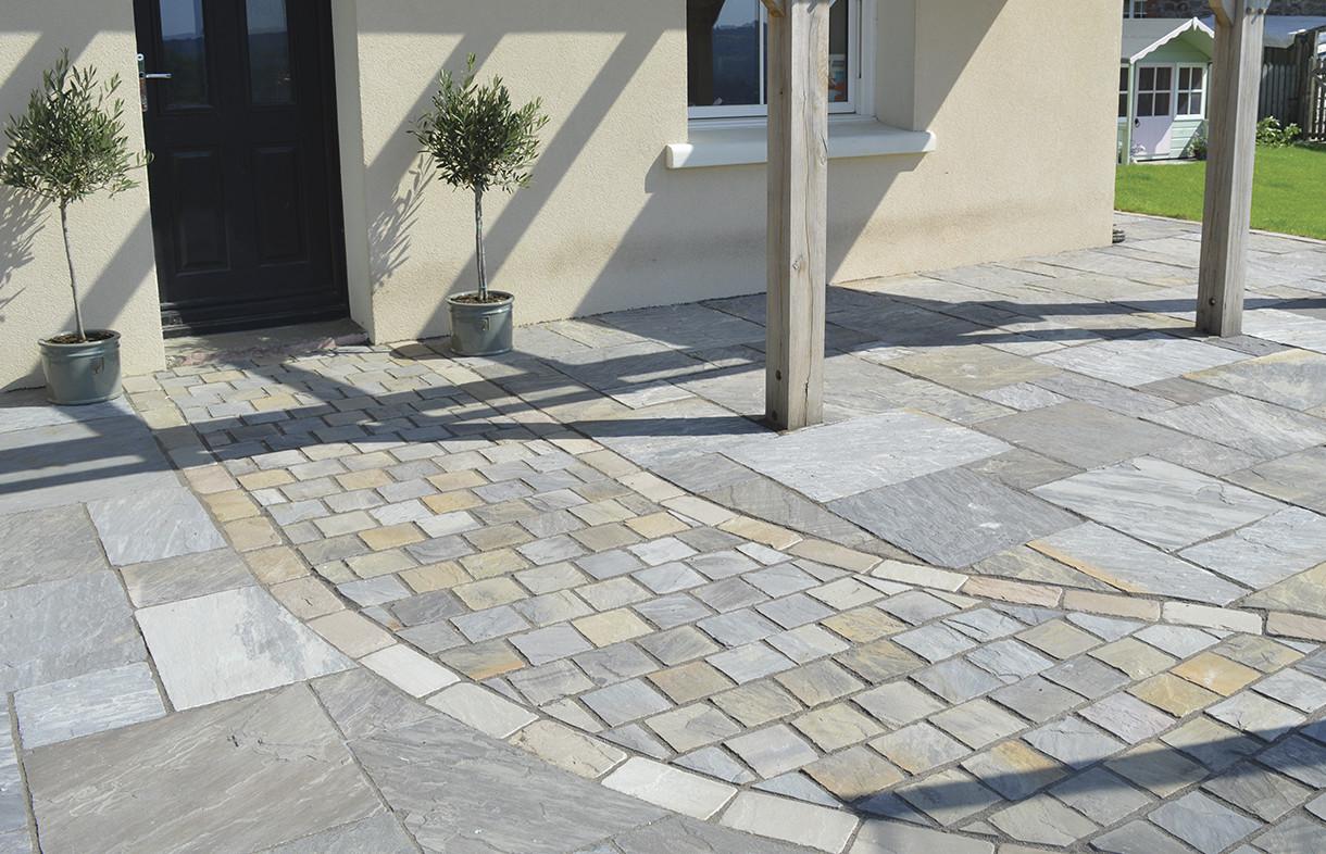 Global Stone driveway setts castle grey