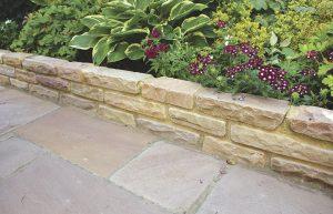 Global Stone old rectory walling modak rose