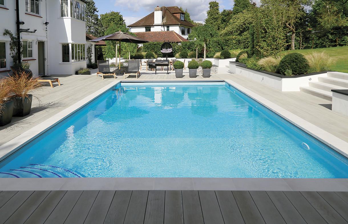 Waxman Cermaics harmonie anti-slip mosaic swimming pool tiles