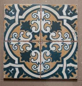 Ca'Pietra Spitafields Toynbee pattern tiles